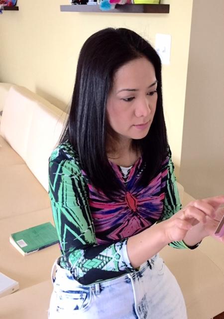 Rich Asian woman