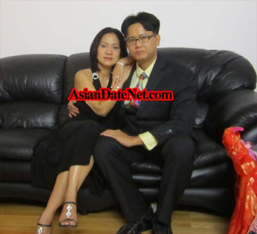 Asian-Asian couple & marriage