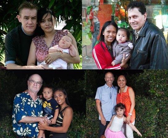 Filipina ladies and Foreign husbands with kids