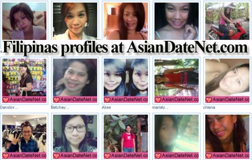 Filipinas profiles at Asiandatenet.com